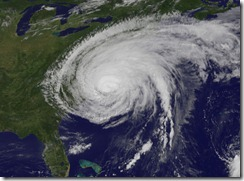 Hurricane Irene at 10:10 am Saturday, Aug 27
